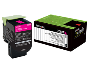 708M Magenta Return Program Toner Cartridge